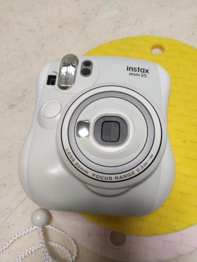 富士instax立拍立得 一次成像相机 mini25 白色 晒单图