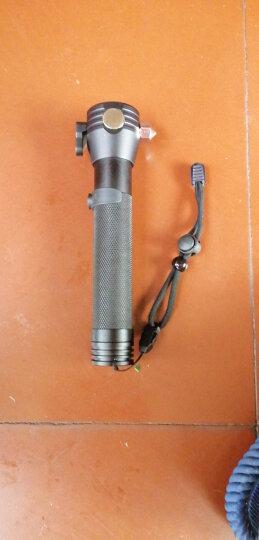 悦卡(YUECAR)十合一安全锤多功能破窗锤手电筒指南针太阳能手机充电器 汽车用品 晒单图
