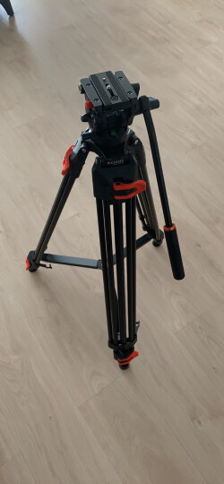 科漫COMAN KX3737 碳纤维摄影摄像机三脚架微电影婚礼索尼松下JV佳能尼康单反相机液压云台支架三角脚 晒单图