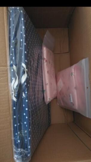 天纵防尘罩可水洗布艺大衣罩 可视西装套加厚衣物防尘套 天空蓝 60*80 晒单图