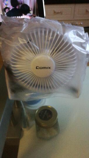 齐心(COMIX)电风扇/USB风扇/学生宿舍移动台式电脑迷你小风扇 蓝色 办公文具L602? 晒单图