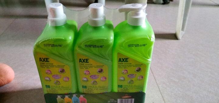 斧头牌(AXE)花茶护肤洗洁精套装1.18kg*3(1泵+2补) 花茶清香 维E呵护不伤手 晒单图