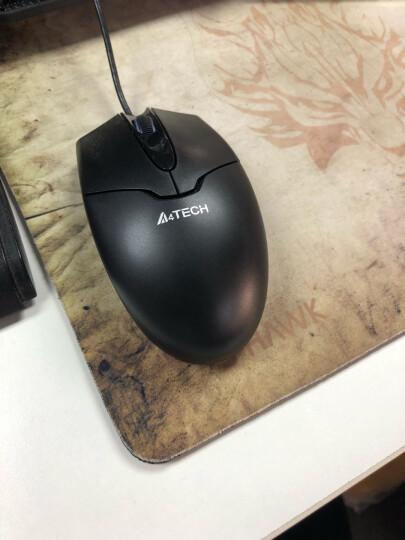 双飞燕(A4TECH) OP-550NU 鼠标 有线鼠标 办公鼠标 便携鼠标 对称鼠标 黑色 晒单图