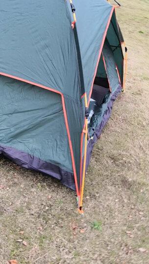 探险者(TAN XIAN ZHE)全自动帐篷户外防雨双人双层免搭建3-4人野外露营帐篷套装 新款3-4人亲子休闲2 晒单图