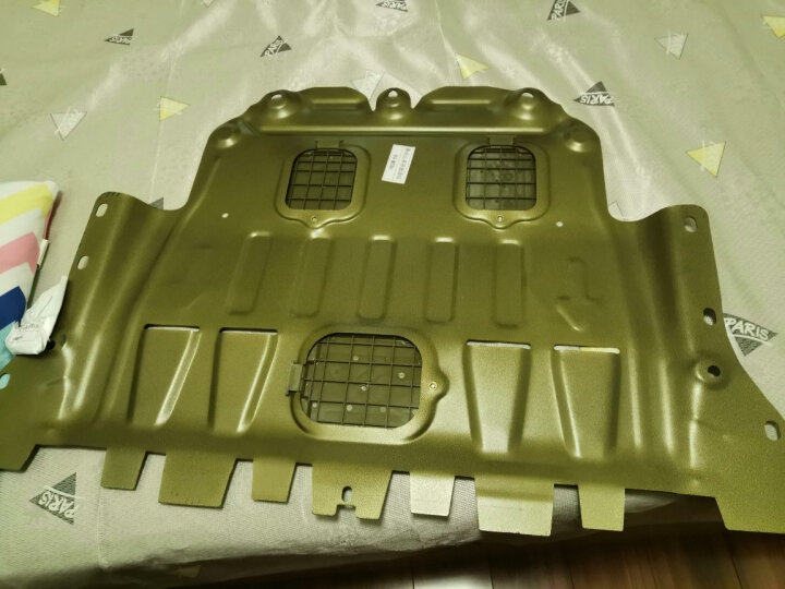 全新汽车发动机护板经典护甲保护板17款底盘装甲挡泥板18汽车防护板全包围改装VV5VV7领克01 3D镁铝合金(全包围) 昊锐/晶锐/野帝/柯迪亚克 晒单图