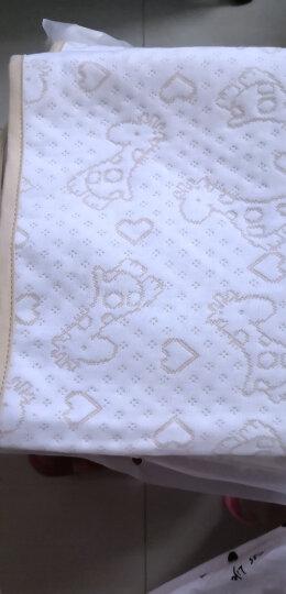 象宝宝(elepbaby)婴儿隔尿垫 四层加厚防水透气护理垫 宝宝尿垫75X50CM(2条装)小鹿+大象 晒单图