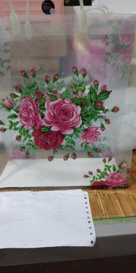 特大号马来T型花袋礼品袋化妆品包装袋食品送礼袋子公司庆典用品包装袋 大号马T 晒单图