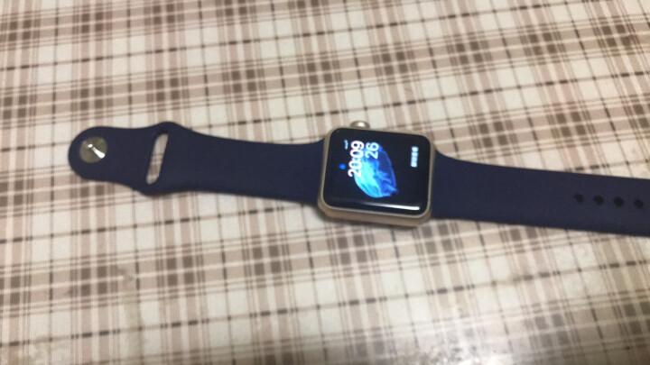【买三免一】MOKO 苹果apple watch/iWatch表带1/2/3代苹果手表表带通 三节装-彩虹色-38mm 晒单图
