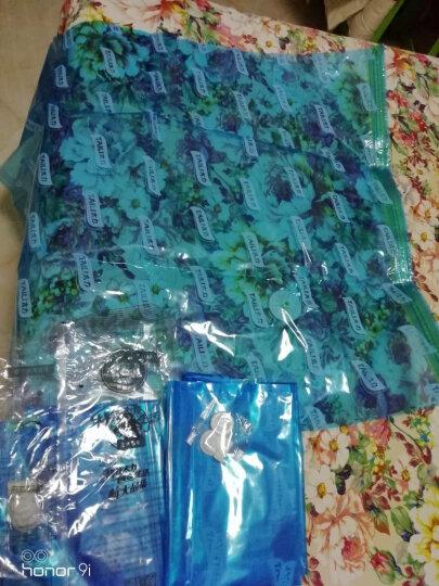 太力真空压缩袋 衣物棉被防潮羽绒服收纳整理袋侧封式送手泵13件套 晒单图