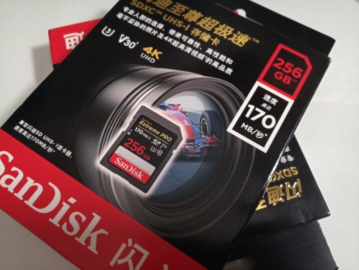闪迪(SanDisk)400GB TF(MicroSD)存储卡 U1 C10 A1 至尊高速移动版 读速100MB/s 广泛兼容 性能稳定 晒单图