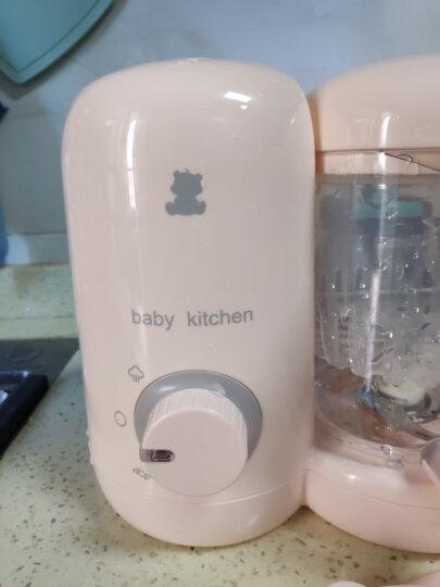 小白熊 婴儿辅食机 蒸煮搅拌一体机 宝宝辅食机婴儿 食物蒸煮一体多功能电动研磨器 晒单图