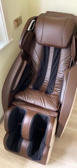 尚铭电器(SminG) 按摩椅太空舱家用全身按摩椅SM-820L 棕色 晒单图