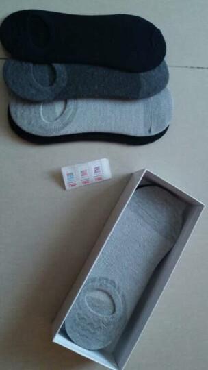 南极人(Nanjiren)袜子男纯色船袜男短袜透气吸汗男士袜子隐形袜男袜5双装棉袜礼盒装均码 晒单图