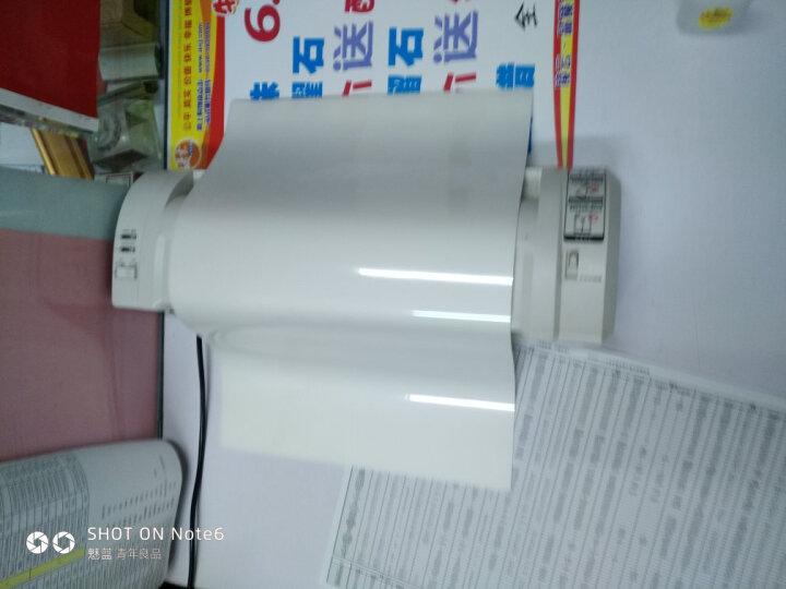 DSB HQ-336 快速型塑封机 A3 冷裱 热裱 过塑机 赠裁纸刀+倒角器 晒单图