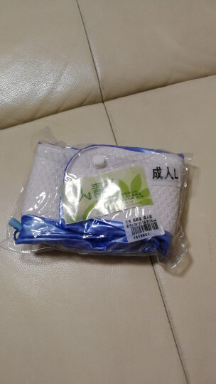 青苇 防雨鞋套加厚底 PVC防水 成人款蓝色L36-37(底约26cm) 晒单图
