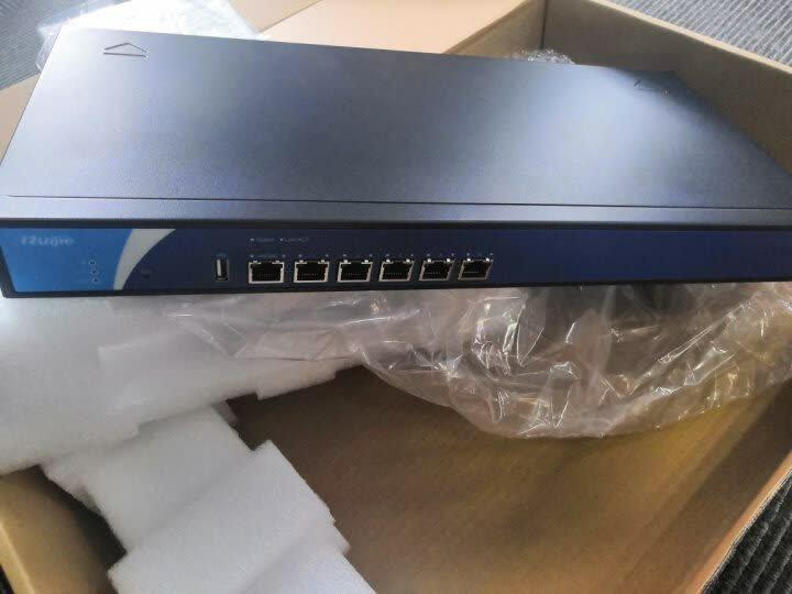 锐捷(Ruijie) RG-EG350 千兆企业级智能上网行为管理网关路由器 VPN 防火墙 晒单图
