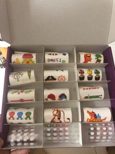 芙蓉天使 TS8099毛毛球艺术画套装 手工制作幼儿园创意DIY粘贴材料绘画 亲子手工揉纸搓纸画粘纸美术画 晒单图