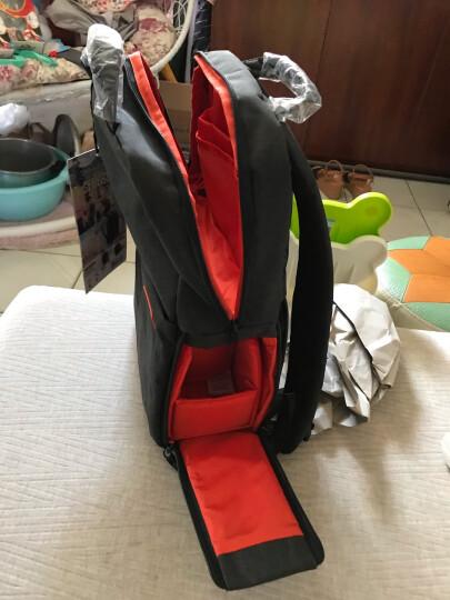 宜丽客(ELECOM) 单反相机包 双肩时尚旅行数码摄影摄像微单背包 适用于佳能尼康索尼 2018款黑色 L+小包套餐 晒单图