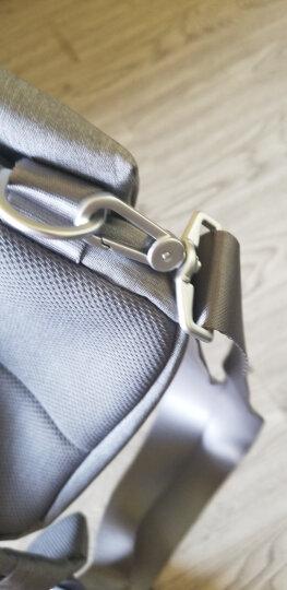 小米(MI)多功能都市休闲胸包 浅灰色 单肩包 可放入7英寸平板电脑 晒单图