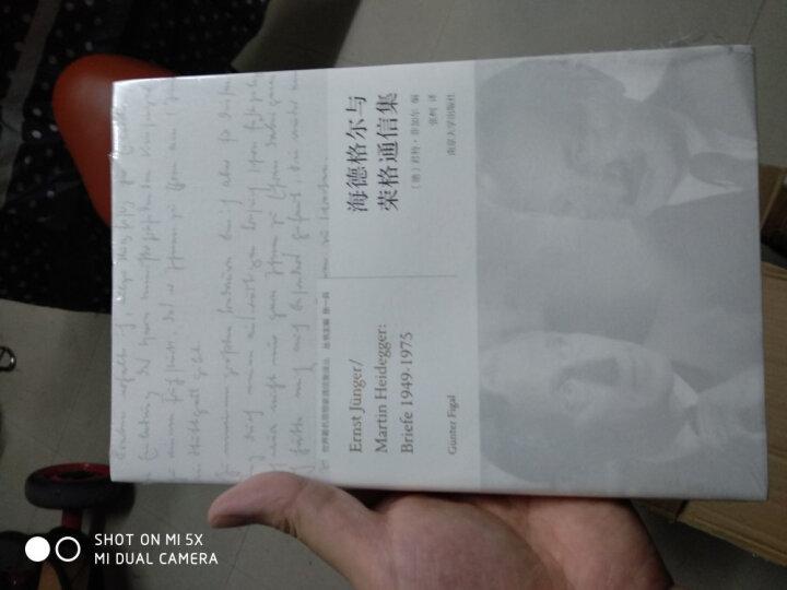 海德格尔与荣格通信集/世界著名思想家通信译丛 晒单图