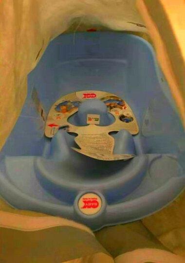 OKBABY 婴儿洗发浴帽 宝宝防水头圈 儿童洗头帽 橡胶弹性调节 珠光粉 晒单图