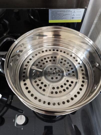 苏泊尔SUPOR好帮手304不锈钢双层复底26cm蒸锅燃气电磁炉通用汤锅蒸笼SZ26B5 晒单图
