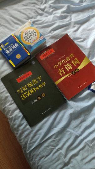 中国好字帖 小学生必背古诗词(正楷) 晒单图