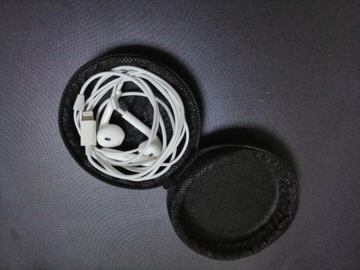 毕亚兹(BIAZE) 便携收纳包 数据线包 耳机包 理线盒 防压防震 A15-黑 晒单图
