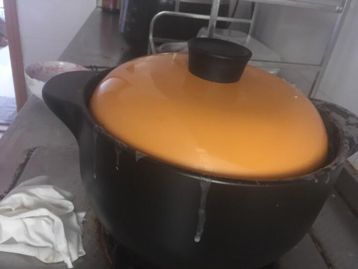 光合生活 砂锅煲汤锅炖汤锅煲仔饭砂锅沙锅陶瓷瓦罐焖锅炖锅 4000ml适合5-6人 晒单图
