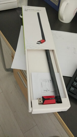 TP-LINK TL-WN726N免驱版 USB无线网卡 笔记本台式机通用随身wifi接收器  外置天线 智能安装 晒单图