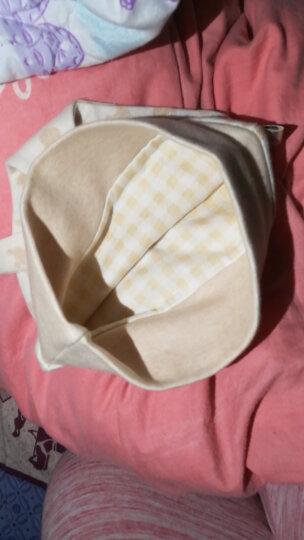 十月结晶 时尚孕产妇月子帽防风/透气月子头巾/秋冬季套头帽亲子帽胎帽 婴儿有结帽  熊猫款 晒单图