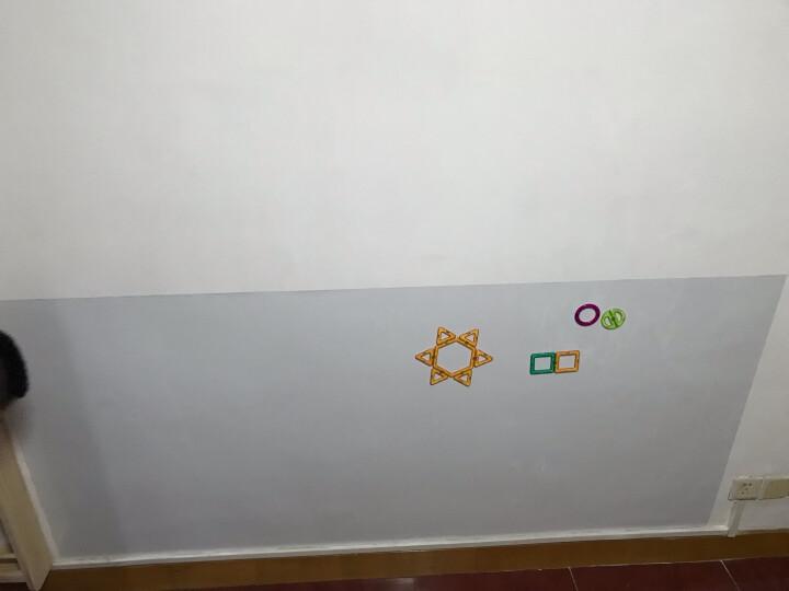 得力(deli)涂鸦教学磁性软白板 可擦白板墙贴 办公白板纸贴 7869 白板清洁剂 晒单图