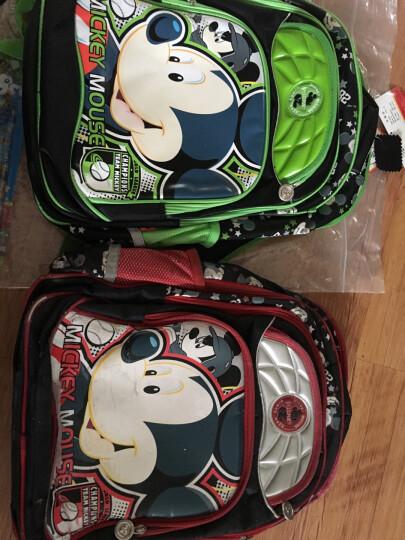 迪士尼(Disney)书包小学生书包男女1-3-6年级米奇儿童书包双肩包 15212儿童书包浅蓝色 晒单图