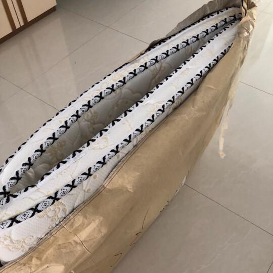 流香木居 床垫棕垫1.8m天然椰棕床垫1.5米双人经济型全棕床垫成人棕榈床垫 高档针织面料 180*60 晒单图