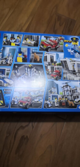 乐高(LEGO)积木 城市组系列City警察总局6-12岁 60141 儿童玩具车 男孩女孩 新年生日礼物 晒单图