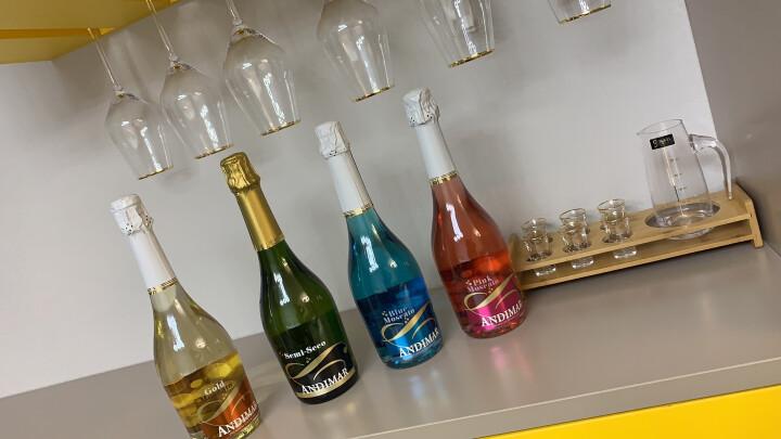 西班牙原瓶进口红酒  爱之湾缤纷四支装甜起泡气泡葡萄酒750ml*4瓶(赠送香槟杯、灯罩、蜡烛) 晒单图