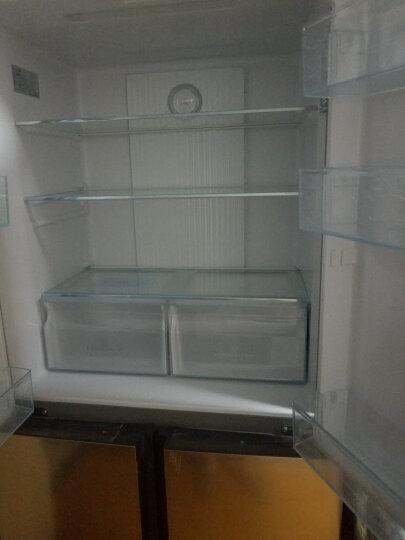 海尔(Haier)458升 双变频风冷无霜  智能十字对开门冰箱 干湿分储 TABT杀菌 BCD-458WDVMU1 晒单图