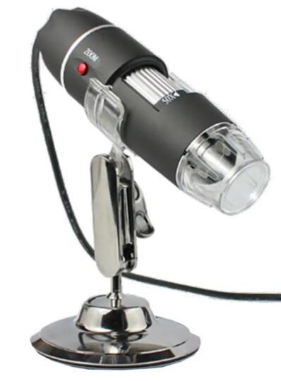 paulone 500倍变倍高清放大镜 数码显微镜 手持接电脑 USB带测量电脑显微镜电脑放大镜XWJ001 晒单图