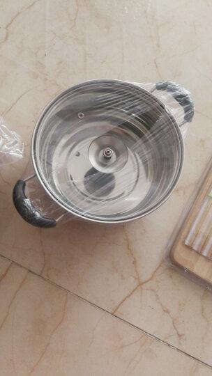 美厨(maxcook)锅具套装 炒锅汤锅砧板菜刀水果刀筷子木铲削皮刀厨具组合8件套 MCTZ254 晒单图