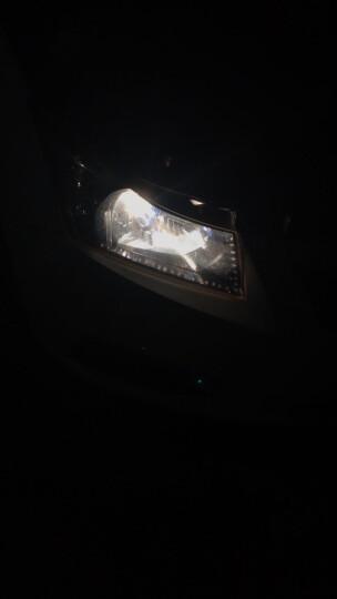 睿昕/Rising  汽车大灯h1h4h7远近光灯泡增亮卤素灯 超白光/黄金光 远近一体原车直插 超白光H11 12V100W/对 晒单图