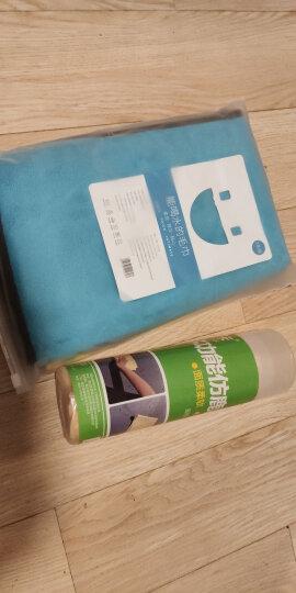 悦卡 洗车毛巾双层双色 加厚珊瑚绒擦车布 吸水毛巾40*60cm(单条装) 汽车用品 晒单图