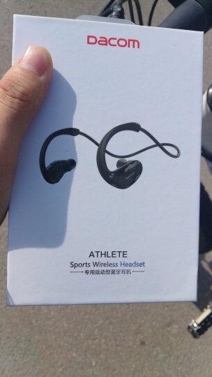 Dacom Athlete 运动蓝牙耳机跑步耳麦双耳音乐无线入耳头戴式适用于苹果小米安卓男女通用 红色 晒单图
