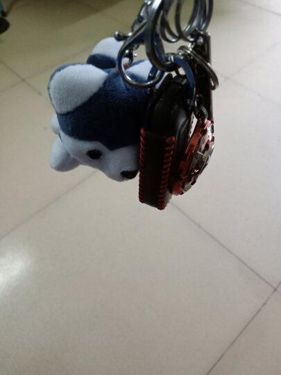 可爱创意毛绒哈士奇钥匙扣小狗玩偶挂件女包包挂饰汽车挂链礼物男 蓝色 哈士奇 晒单图