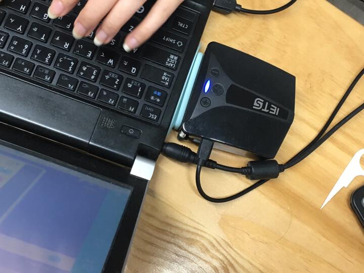 ETS五代 笔记本抽风式散热器 后吸风式侧吸风冷散热器手提电脑排风扇水冷机适用14英寸15.6 17 强力双电源供电版黑色 晒单图