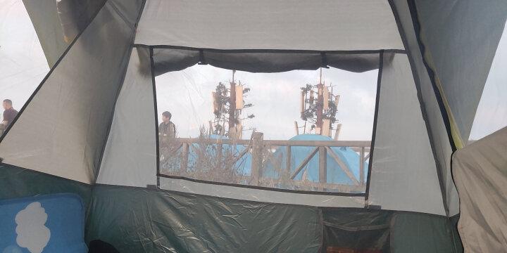探险者(TAN XIAN ZHE)全自动帐篷户外防雨双人双层免搭建3-4人野外露营帐篷套装 【升级款】2-3人豪华套餐3(超高性价比) 晒单图