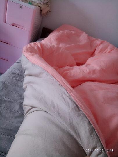 水星家纺 加厚冬被子被芯 克洛怡抗菌七孔冬被太空纤维被 粉色/多色可选 加大双人被220*240cm 晒单图