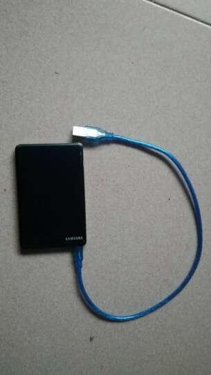 涵清隆 mini usb数据线T型口移动硬盘行车记录仪数据线相机平板mp3/4充电线 移动硬盘双头USB 晒单图