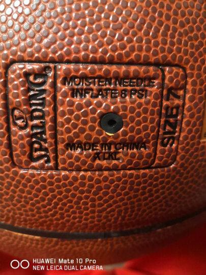 斯伯丁SPALDING 室内外耐磨篮球73-939Y热火队徽橡胶蓝球 晒单图
