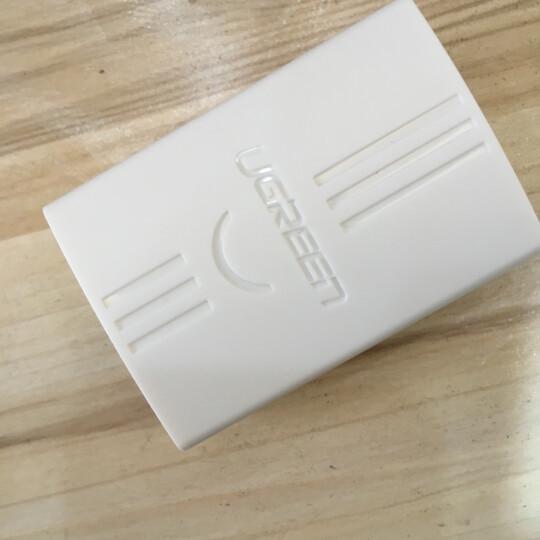 绿联(UGREEN)绕线器 线缆收纳固定电源线线卡理线器夹 电脑线桌面收线夹绑线扎线带缠线器 2个装蓝色 30484 晒单图