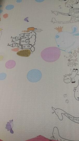 贝博氏宝宝爬行垫宝宝爬爬垫游戏垫双面环保地垫亲子娱乐垫农庄物语+海底ABC(200cm*180cm*1cm) 晒单图